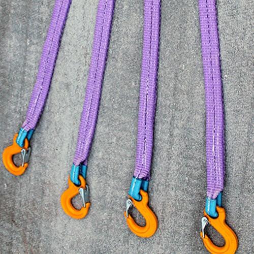 Четырехветвевой текстильный строп