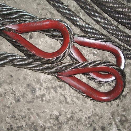 Канатный одноветвевой строп