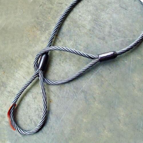 Канатный петлевой строп