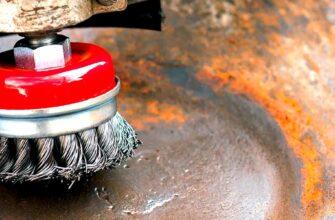 Как очистить трубы от ржавчины